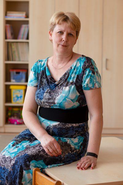 Auklėtojos padėjėja - Jolita Bacevičienė