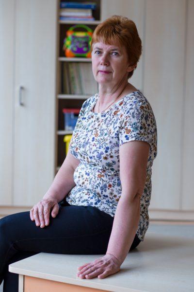 Auklėtojos padėjėja - Rita Jurkūnienė
